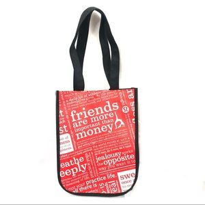 Lululemon Athletica Red Lunch Tote